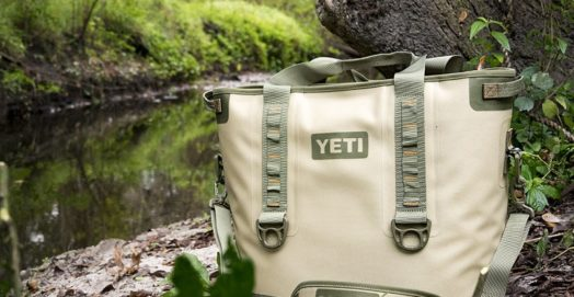 Yeti Cooler by Tree