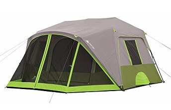 Ozark Trail 9-Person Instant Cabin Tent Camping Outdoors...