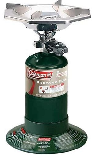 Coleman Single Burner Stove; best camping stove
