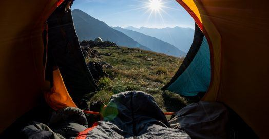 Best Sleeping Bag for Camping & Backpacking Outdoors