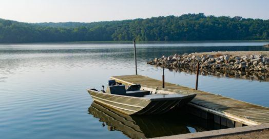 Fishing in Iowa