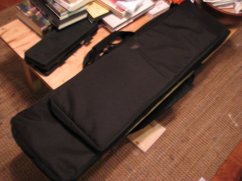black rifle or bow bag