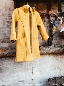 coat made of Merino wool