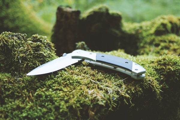 gray-and-black-folding-pocket-knife
