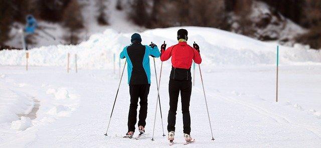 2 man on skis