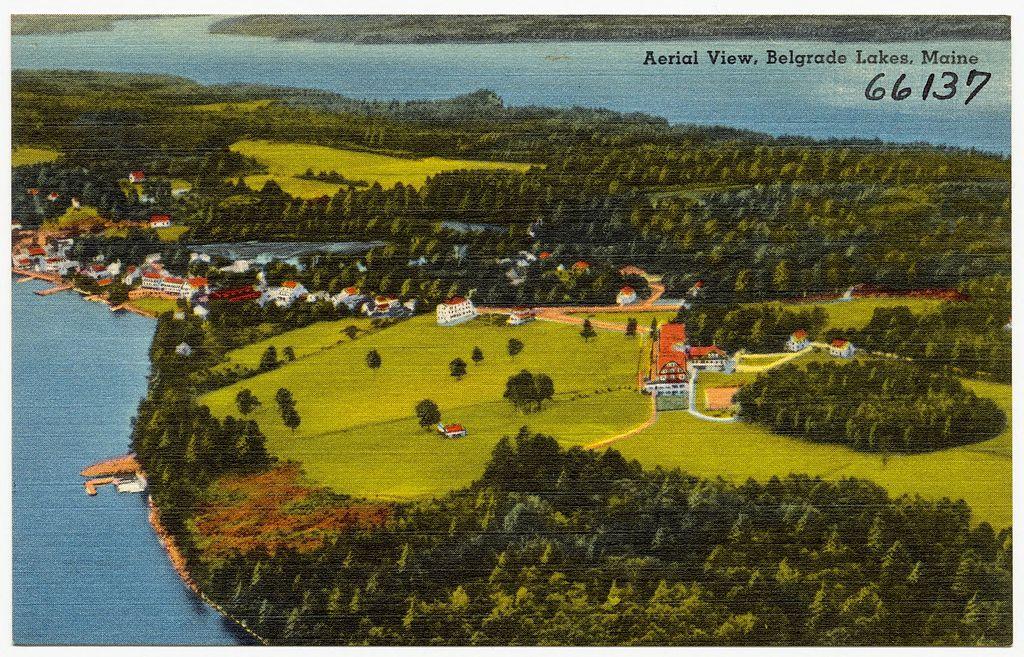 Belgrade Lake Maine