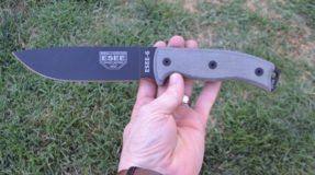 ESEE 6P-B Plain Edge 1095 Steel