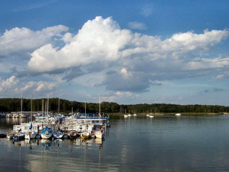 Lake Shelbyville marina